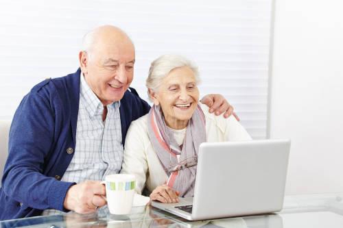 Computer Service für Senioren
